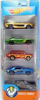 Hot Wheels - 5 pack