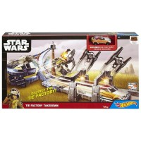 Hot Wheels Star Wars - Zestaw torów Tie Factory