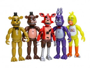 Five Nights At Freddy's Figurki - FNAF Zestaw 5 figurek