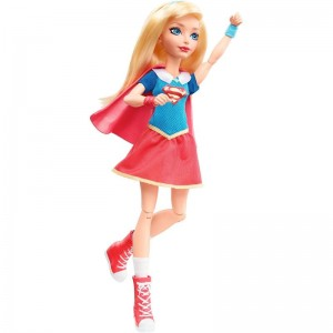 Mattel DC Super Hero Girls - Lalka Superbohaterka Supergirl