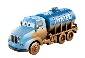 Mattel Cars Auta 3  Mr. Drippy Water Truck Zwariowana Ósemka FCW07