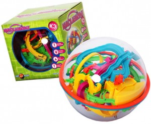 ART And PLAY Kulolabirynt K3  zielony 19 cm